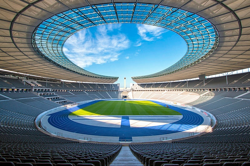 Olympic Stadium in Berlin, Germany by Martijn Mureau