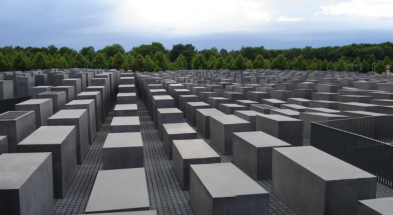 Foundation Memorial to the Murdered Jews of Europe by Chaosdna