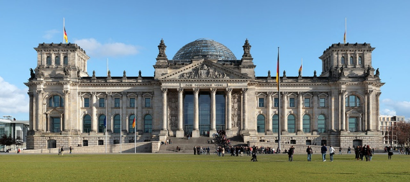 The Reichstag Building by Matthew Field