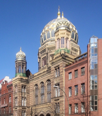 The Restored New Synagogue by Eduard Knoblauch