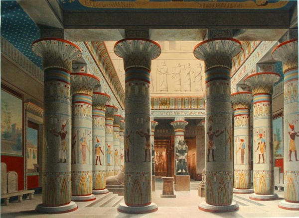 The Egyptian Courtyard, Neues Museum, Berlin