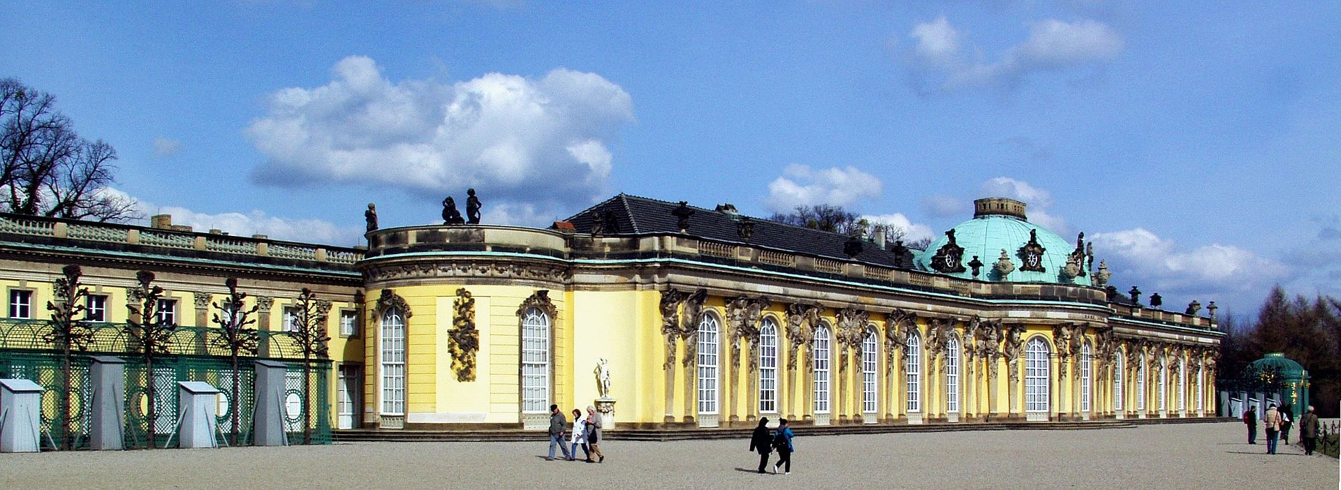 The Garden Facade Of Sanssouci by Raimond Spekking