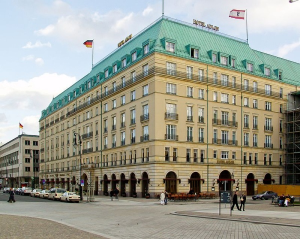 The Hotel Adlonin Berlin, Germany by Raimond Spekking